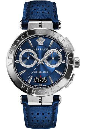 VERSACE Reloj analógico VE1D01220, Quartz, 45mm, 5ATM para hombre