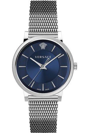 VERSACE Reloj analógico VE5A00520, Quartz, 42mm, 5ATM para hombre