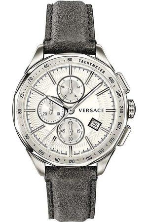 VERSACE Reloj analógico VEBJ00118, Quartz, 44mm, 5ATM para hombre