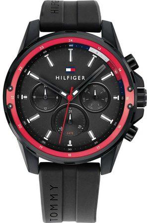 Tommy Hilfiger Reloj analógico 1791793, Quartz, 45mm, 3ATM para hombre
