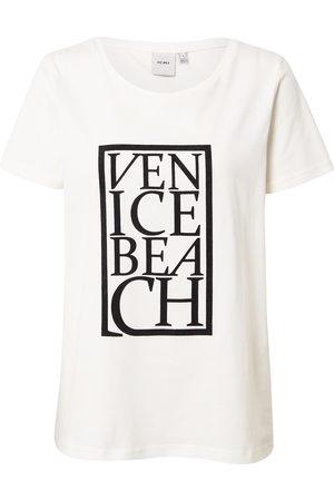 Ichi Camiseta crema /