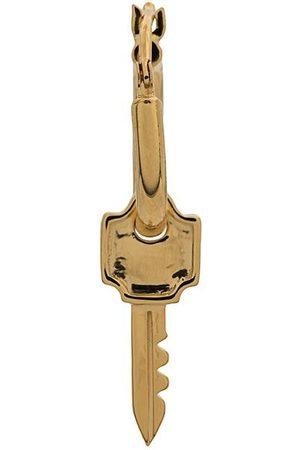 NORTHSKULL Hombre Pendientes - Aro con diseño de llave