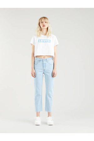 Levi's 501® Original Crop Jeans Indigo claro / Samba Goal