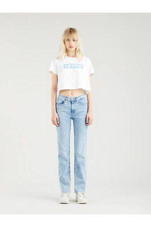 Levi's 724™ High Rise Straight Jeans Indigo claro / Spill The Tea