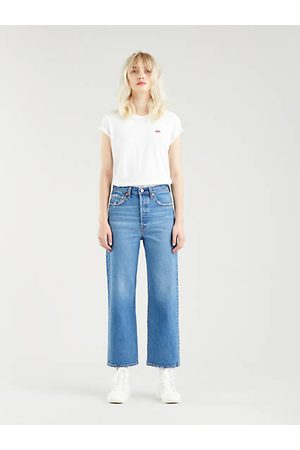 Levi's Ribcage Straight Ankle Jeans Indigo claro / Jive Together