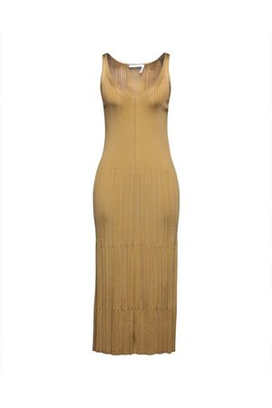 Chloé Mujer Midi - Vestidos a media pierna