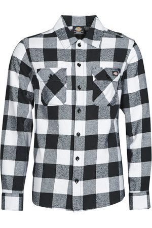 Dickies Camisa manga larga NEW SACRAMENTO SHIRT BLACK para hombre