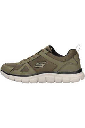 Skechers Zapatillas - Track scloric verde 52631 OLBK para hombre