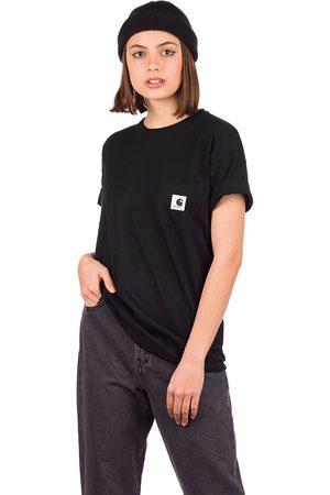 Carhartt Mujer Manga corta - Pocket T-Shirt negro
