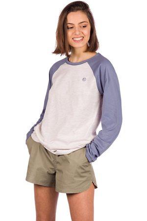 Kazane Mujer Manga larga - Wilma Long Sleeve T-Shirt gris