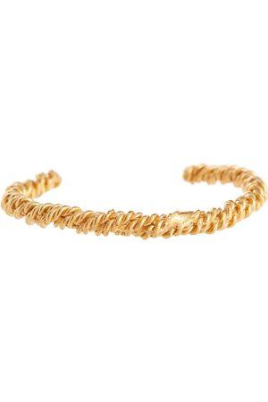 Alighieri Mujer Pulseras - Pulsera Celestial Orbit de bronce con baño en oro de 24 ct