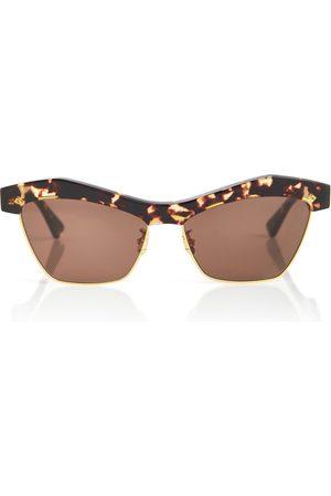 Bottega Veneta Mujer Gafas de sol - Gafas de sol cat-eye de carey