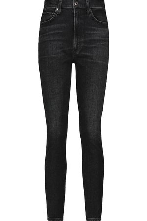 AGOLDE Mujer Cintura alta - Jeans skinny Pinch de tiro alto