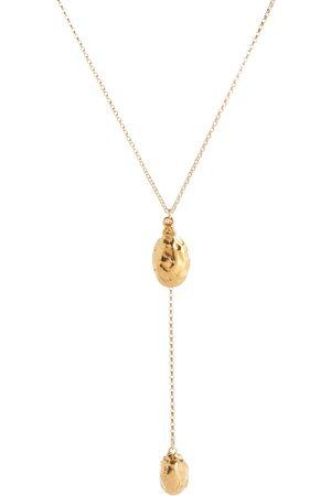 Alighieri Collar Lunar Rocks con baño en oro de 24 ct