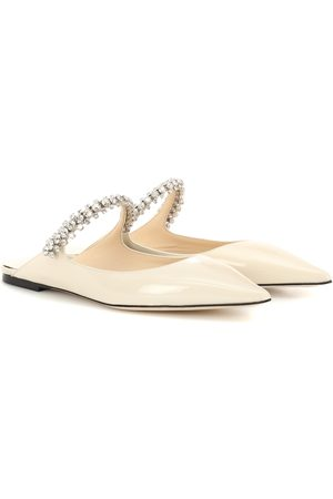 Jimmy Choo Mujer Zuecos - Bing patent leather mules