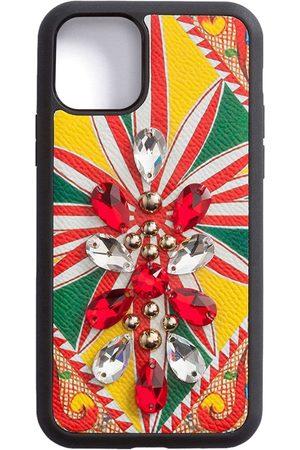 Dolce & Gabbana Funda para iPhone con detalle de cristales