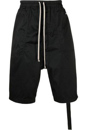 Rick Owens Pantalones fluidos de tiro caído