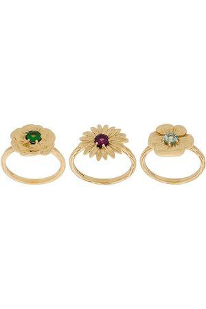 Aurélie Bidermann Mujer Sets de joyas - Set de anillos Bouquet