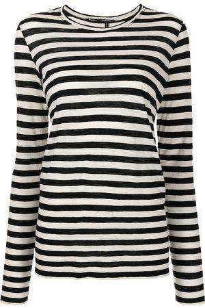 Proenza Schouler Camiseta a rayas de manga larga