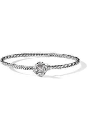 David Yurman Mujer Pulseras - Pulsera Infinity de 3mm con diamantes en pavé