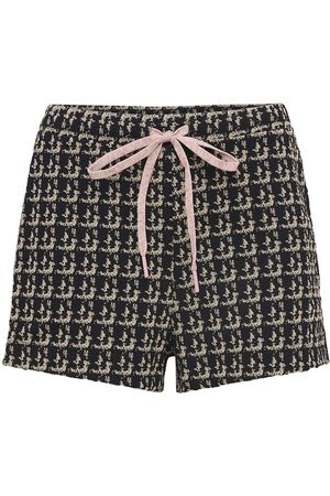 The Upside | Mujer Shorts De Jacquard Bouclé /blanco Xs