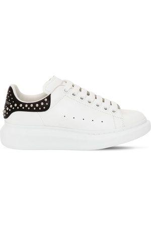 Alexander McQueen | Mujer Sneakers De Piel 45mm /negro 34