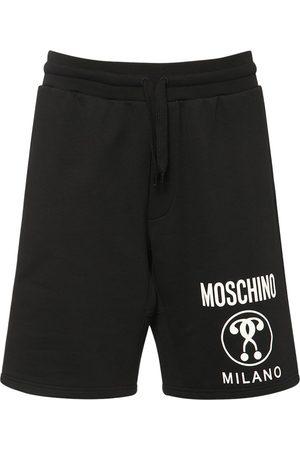 Moschino   Hombre Shorts De Jersey De Algodón 44