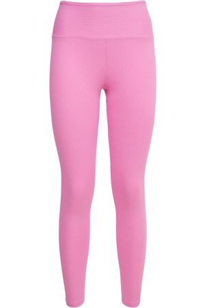 YEAR OF OURS | Mujer Leggings Acanalados Con Cintura Alta Xs