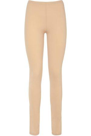 MM6 MAISON MARGIELA | Mujer Pantalones De Jersey Con Logo Minimalista Xs