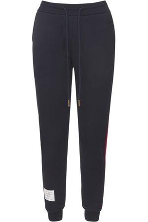 Thom Browne | Mujer Pantalones Deportivos De Algodón Con Rayas 36
