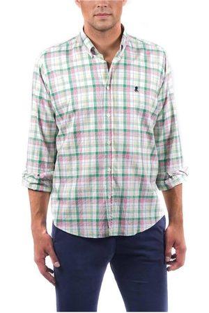 El Pulpo Camisa manga larga CAMISA PINPOINT CUADRO MADRÁS para hombre