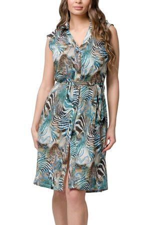 Luna Vestido Robe de plage chemisier sans manches Casablanca Splendida para mujer