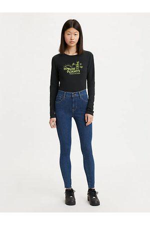 Levi's Mujer Cintura alta - 720™ High Rise Super Skinny Jeans Indigo oscuro / Echo Stonewash