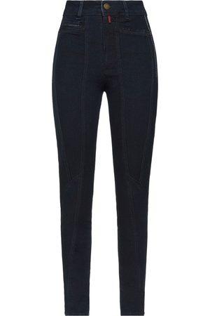 High Mujer Cintura alta - Pantalones vaqueros