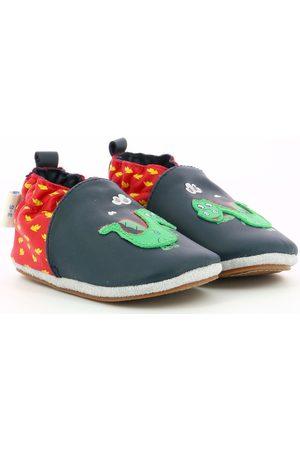 Robeez Pantuflas Hot Dragon para niño
