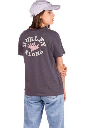 Hurley Wailer Washed Gf Crew T-Shirt gris