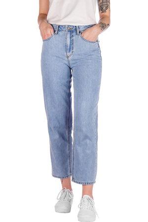 Volcom Mujer Cintura alta - Daddio Jeans azul