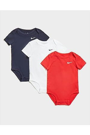 Nike Bodies bebé - 3-Pack Swoosh Bodysuits Infant