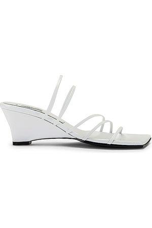 Reike Nen Tacones compensados 5 strap en color talla 35 en - White. Talla 35 (también en 36, 37, 38, 39, 40).