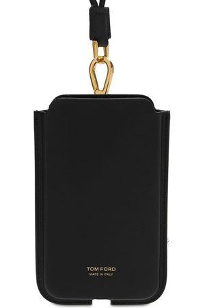 Tom Ford | Hombre Funda Para Iphone Con Logo Y Correa Para El Cuello Unique