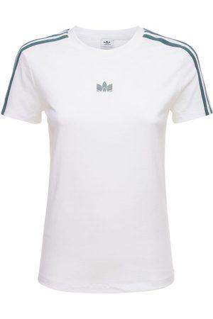 adidas Mujer Camisetas -   Mujer Camiseta Slim Fit 36