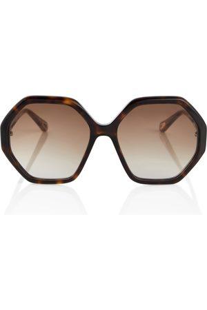 Chloé Mujer Gafas de sol - Gafas de sol Esther hexagonales
