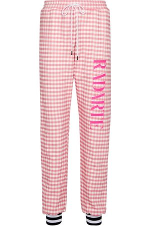 RODARTE Pantalones de chándal de algodón
