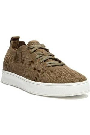 FitFlop Zapatillas RALLY MULTI KNIT SNEAKERS - MILITARY GREEN para hombre