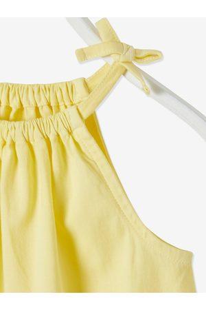 Vertbaudet Camiseta sin mangas efecto dip dye para niña claro bicolor/multico