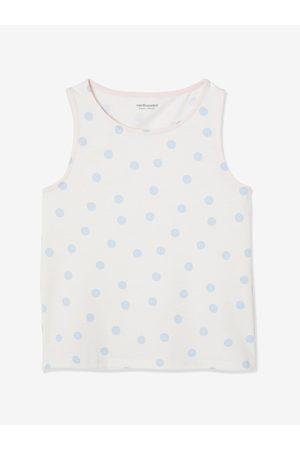 Vertbaudet Lote de 3 camisetas de tirantes con detalles irisados, para niña claro bicolor/