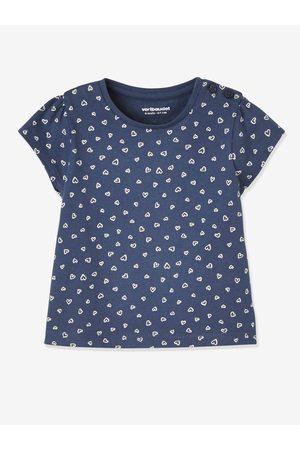Vertbaudet Lote de 2 camisetas bebé niña de manga corta con motivo frutas medio bicolor/multico