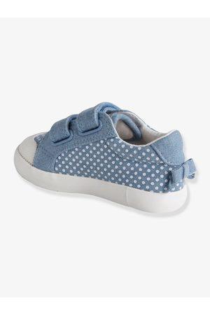 Vertbaudet Zapatillas deportivas de lona con tiras autoadherentes bebé niña medio estampado