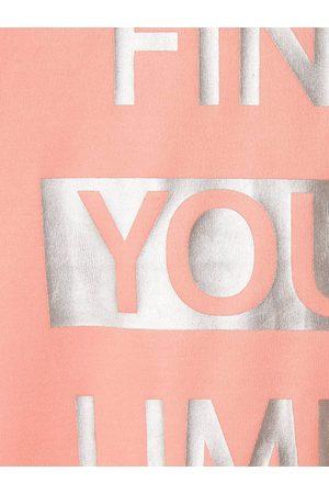 Vertbaudet Camiseta de tirantes deportiva con inscripción irisada, para niña claro liso con motivos