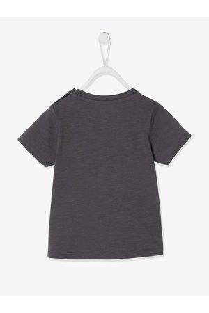 """Vertbaudet Camiseta de manga corta """"Ohé matelot"""" para bebé oscuro liso con motivos"""